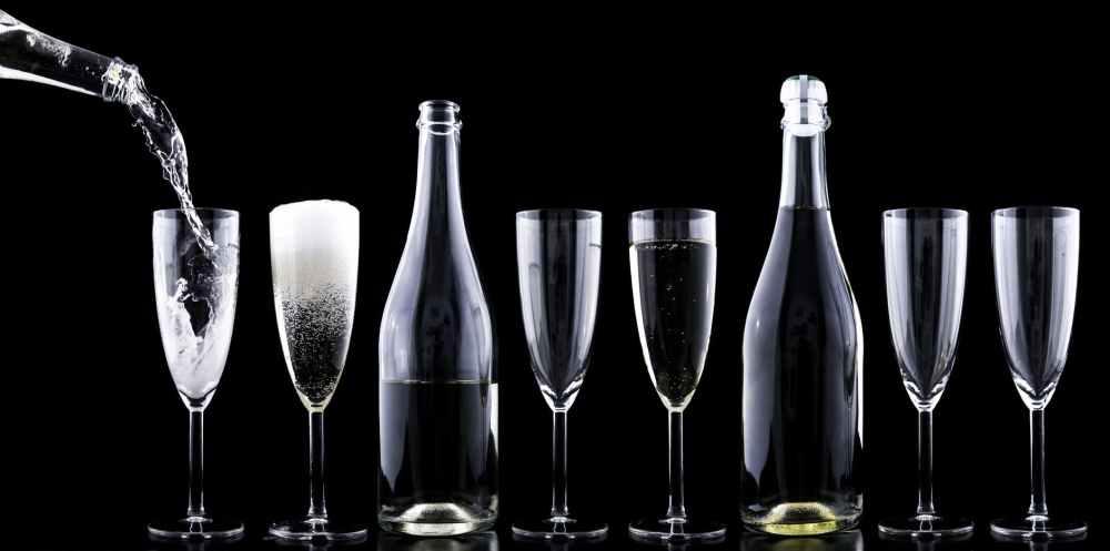 toast romantic festive alcohol