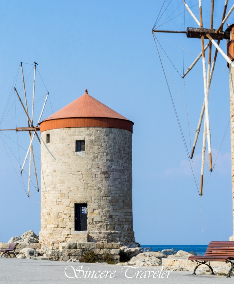 Windmills at the Harbour