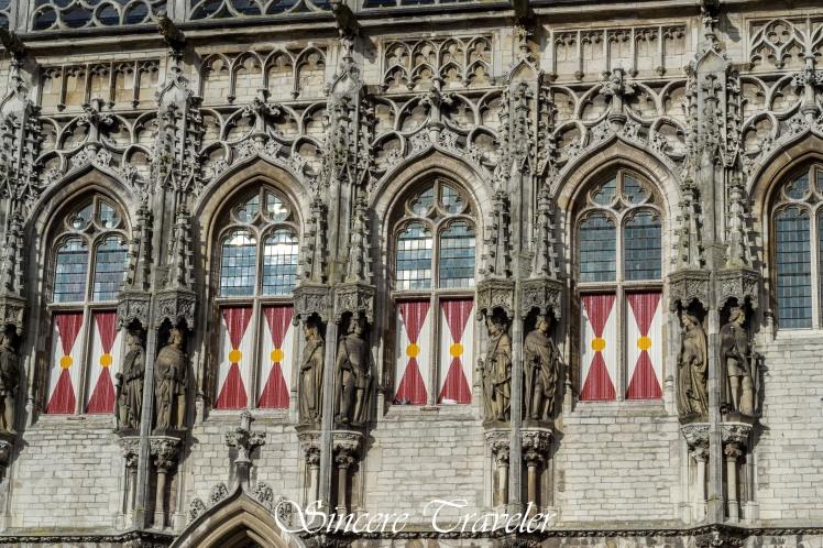 Town Hall Middelburg Facade