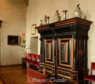 Town Hall Middelburg treasures inside