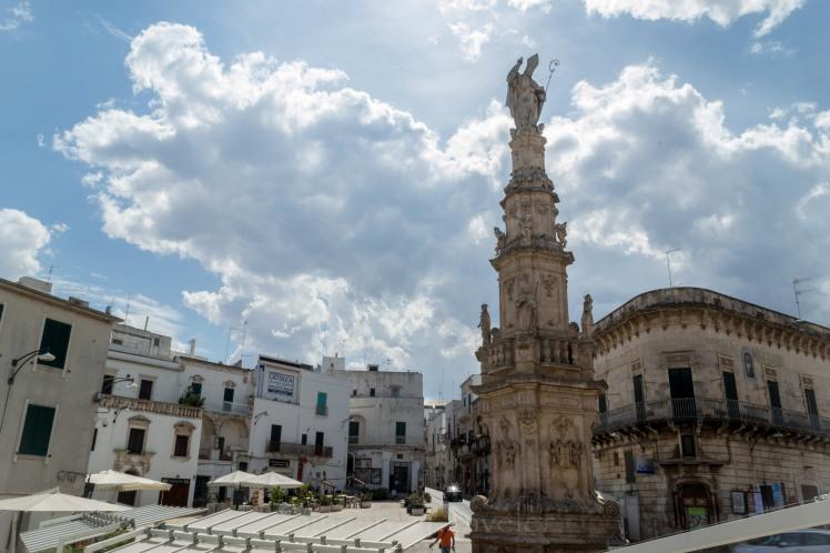 Puglia - Ostuni - Central square