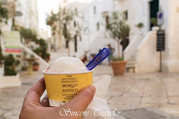 Puglia - Ostuni - Ice cream