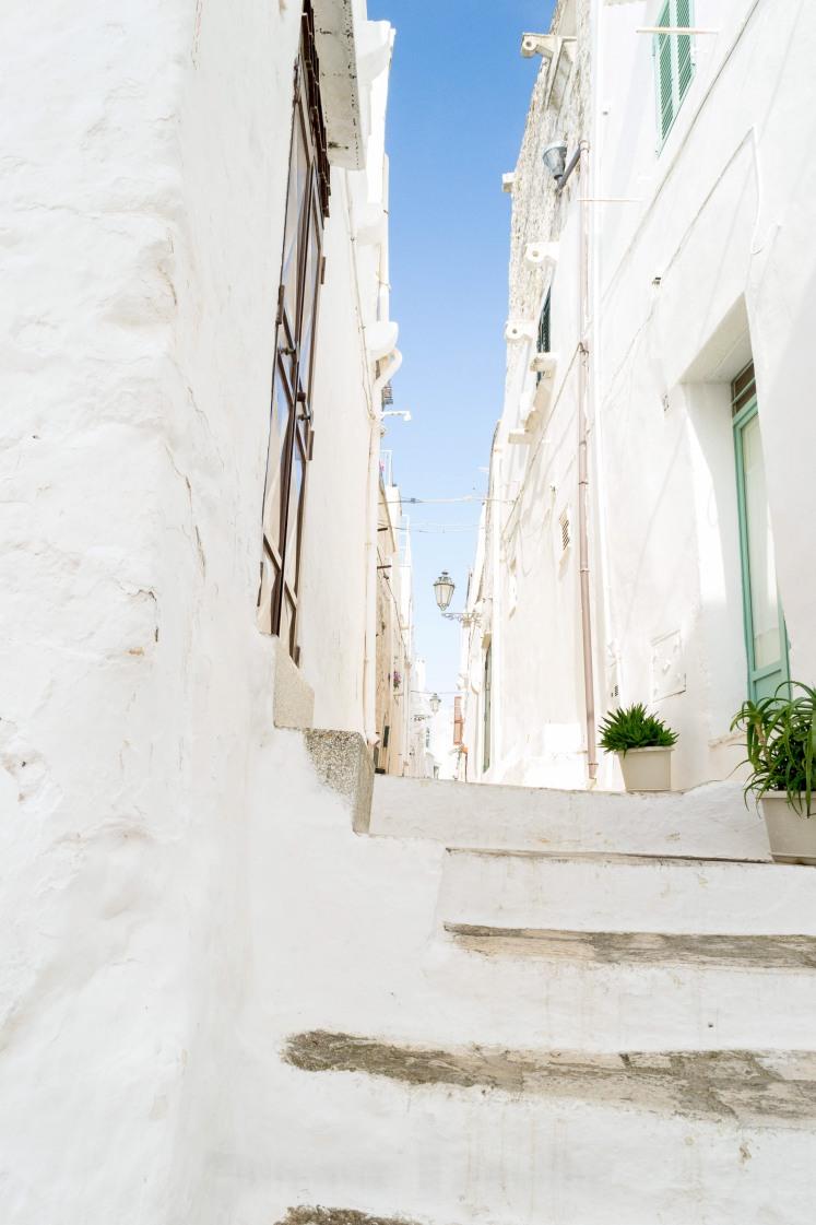 Puglia - Ostuni - White streets