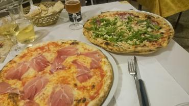 Puglia - Otranto, Pizza from La Bella Idrusa