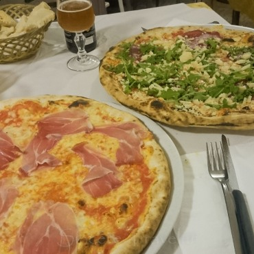 Puglia - Otranto, Pizza from La Bella Idrusa