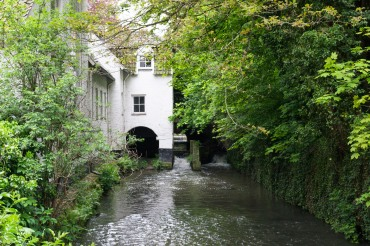 Maastricht - Jekerquarter - the river Jeker